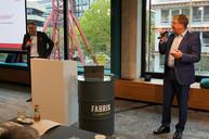 Jahrestagung, 8. Oktober Düsseldorf, Andreas Hemsing (links) und Hubert Meyers